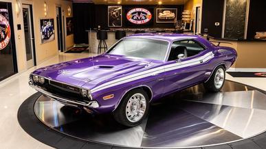 1970 Dodge Challenger: рестомод для гурманов