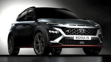 Спорткроссовер Hyundai Kona N выглядит так