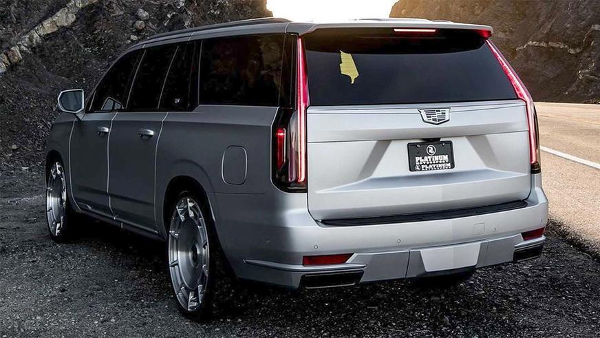 Cadillac Escalade, изготовленный для Ким Кардашьян