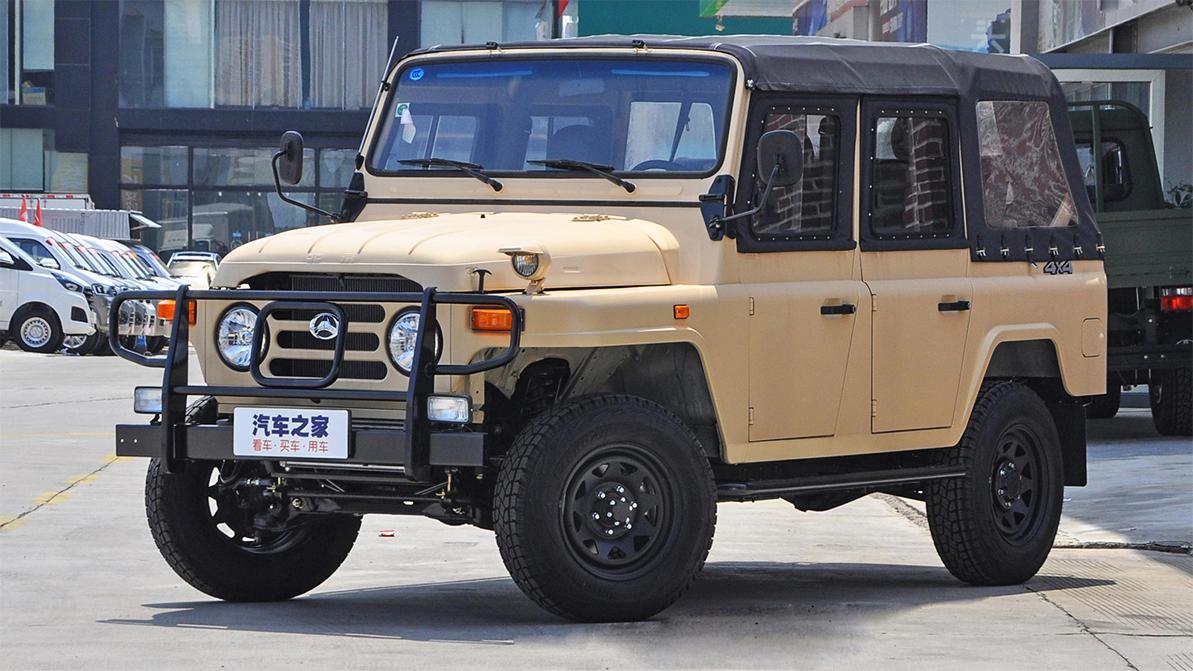 Китайский уазик получил новый турбомотор