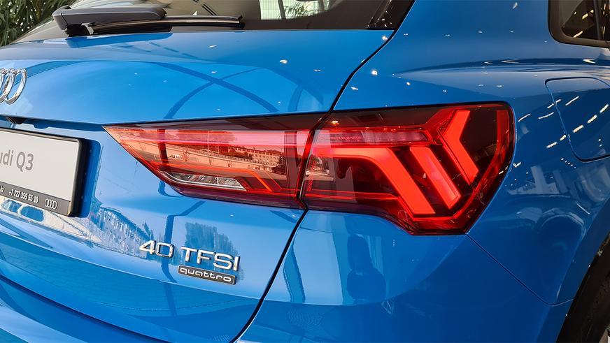 Первые Audi Q3 второго поколения добрались до Казахстана