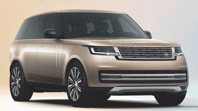 Фото пятого поколения Range Rover уже утекли в Сеть