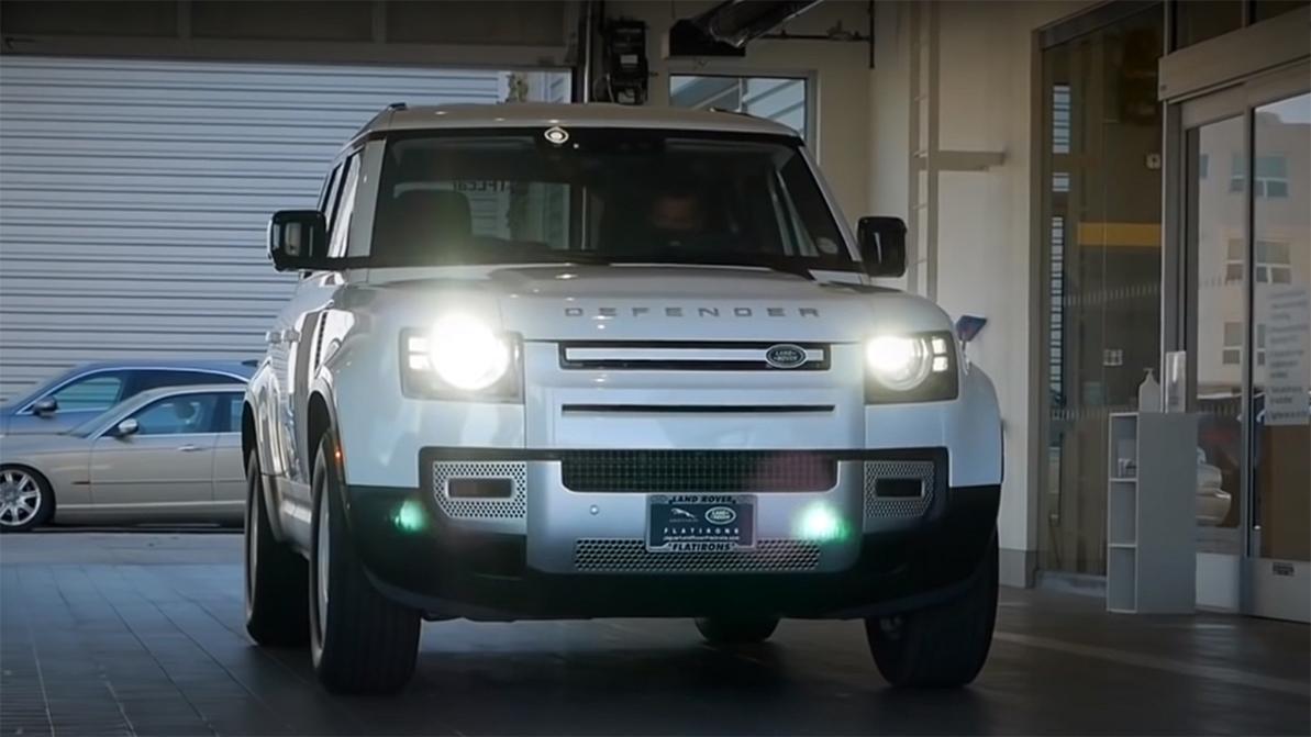 Новый Land Rover Defender проехал 269 км и сломался