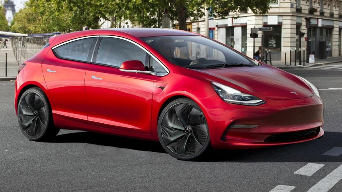 Прототип Tesla Model 2 втайне собрали в Китае