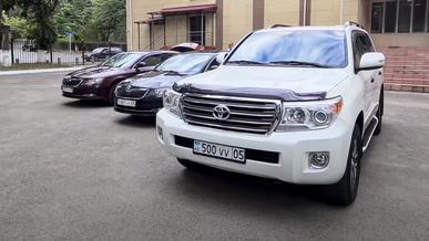 Казахстанские акимы предпочитают Toyota и Kia