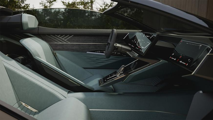 Показан Audi Skysphere как наследник Horch 853