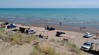 Пляжи в Капшагае закроют до 2 августа