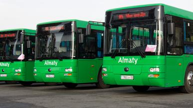 Запретить законодательно закупать дизельные автобусы хотят в Алматы