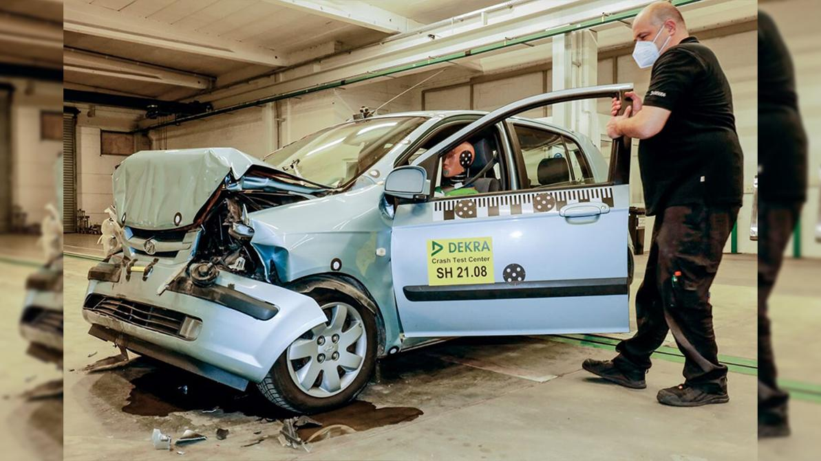 Насколько безопасен 18-летний Hyundai Getz?
