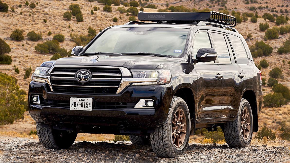 Toyota Land Cruiser покидает США, официально
