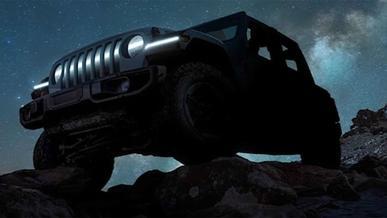 Анонсирован электрический Jeep Wrangler