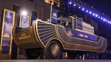 Золотые колесницы Тутанхамона