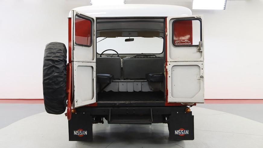 Классический Nissan Patrol за 28 тысяч долларов