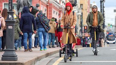 Для электросамокатов в России придумали свои правила