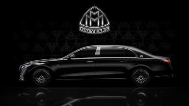 Mercedes приготовился отмечать юбилей Maybach