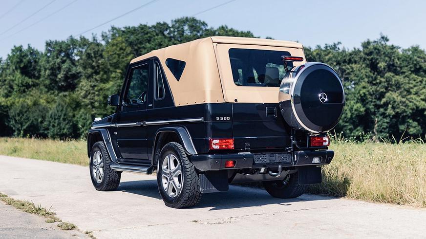 За короткий G-Class с мягким верхом хотят выручить 380 тысяч долларов