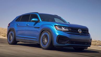 Заряженный VW Atlas поработает для рекламы