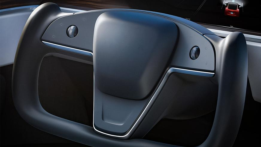 Илон Маск презентовал Tesla Model S Plaid
