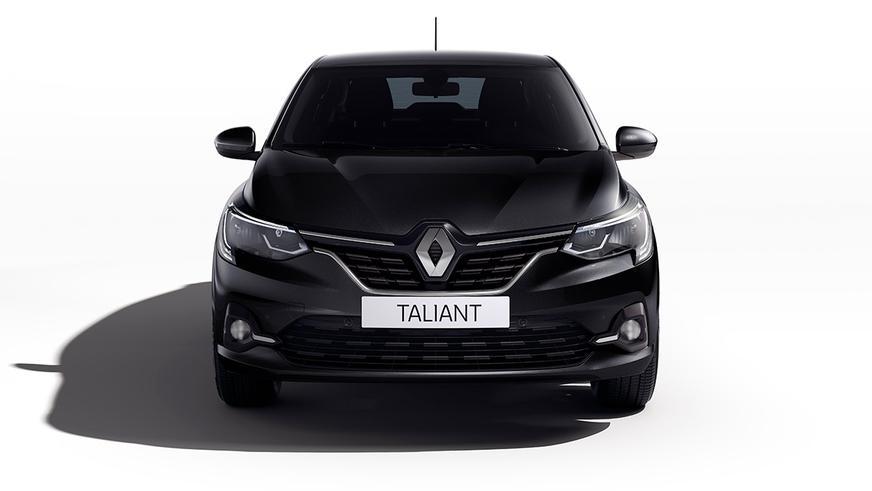 Новый Logan превратился в Renault Taliant
