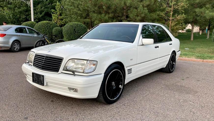 Самый дорогой Mercedes-Benz W140 на kolesa.kz
