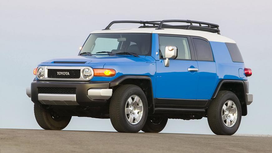 На подержанные Toyota FJ Cruiser растёт спрос в США