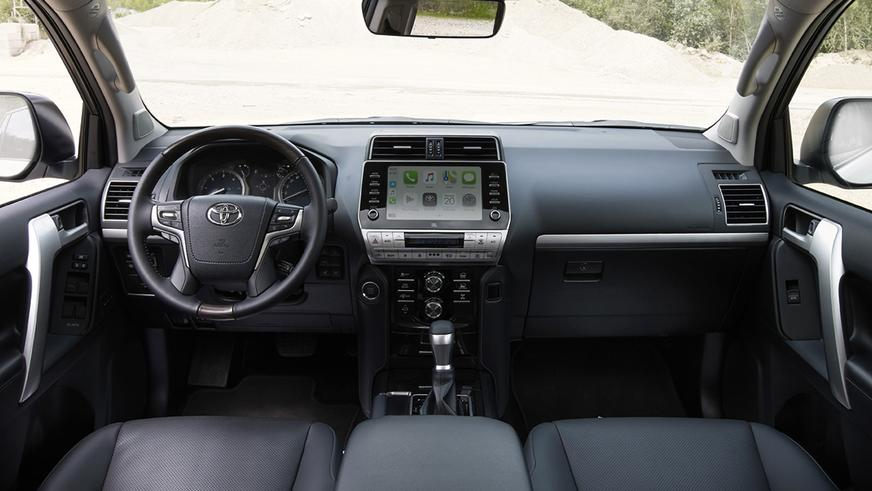 Toyota LC Prado получил новый мотор и мультимедиа