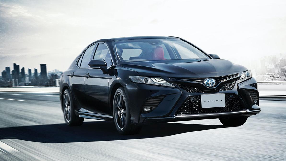 У Toyota Camry появилась юбилейная версия