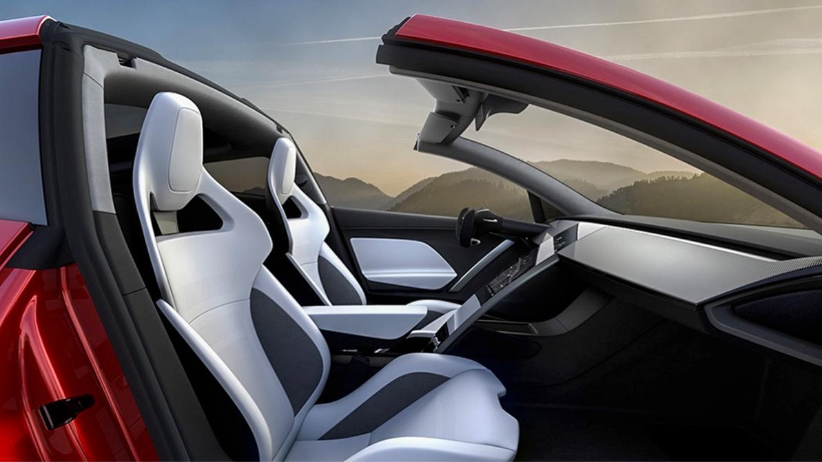 Tesla Roadster ускорится до сотни за секунду
