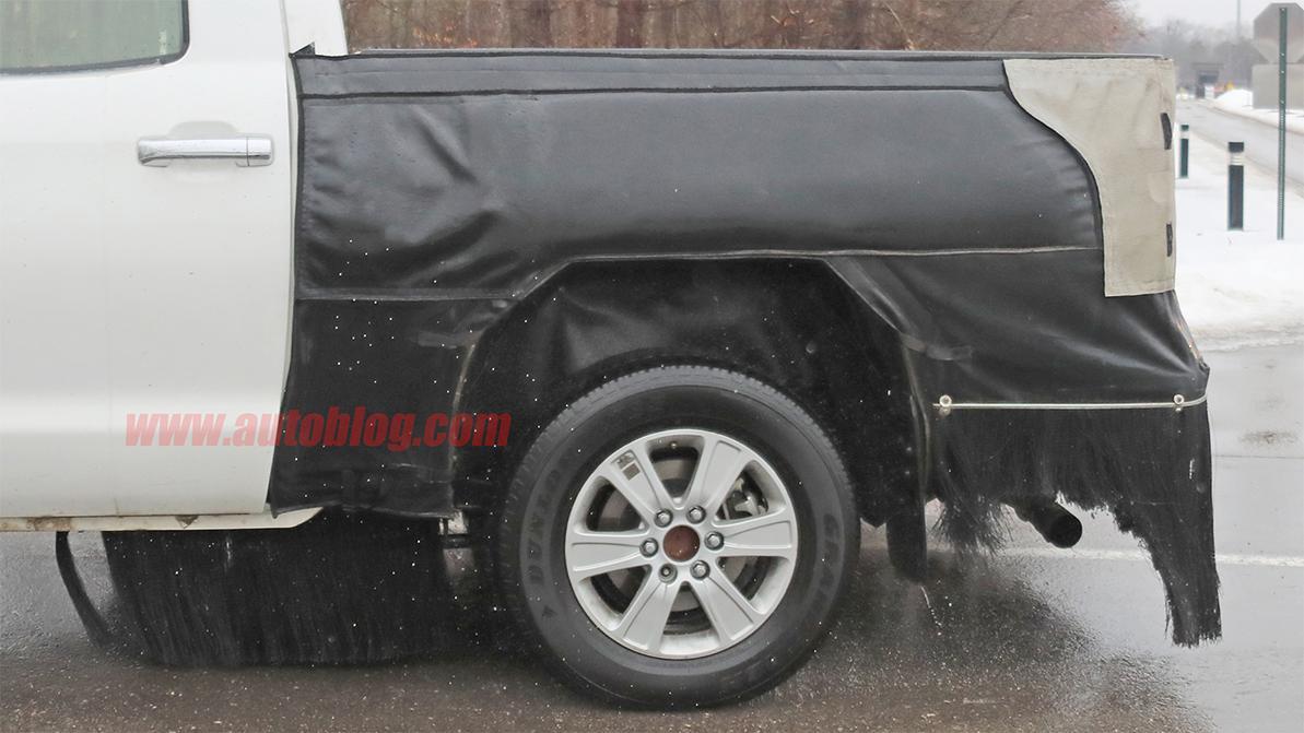 Toyota готовится показать новый пикап Tundra