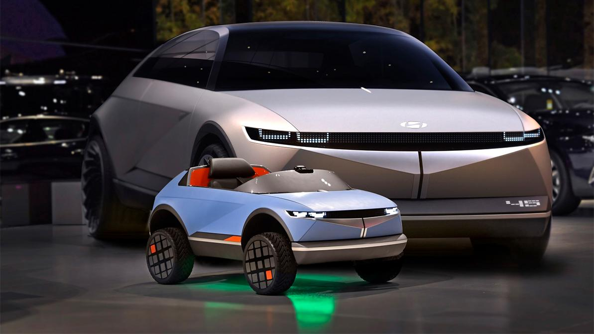 Hyundai представил кроссовер для детей