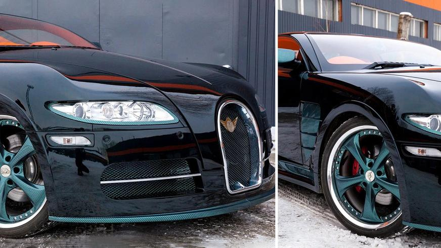 За «двойника» Bugatti Veyron просят 70 млн тенге