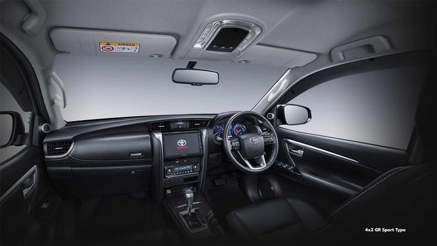 У Toyota Fortuner появилась спортверсия с задним приводом