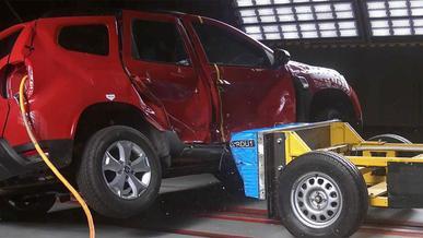 Renault Duster провалил краш-тест в Латинской Америке