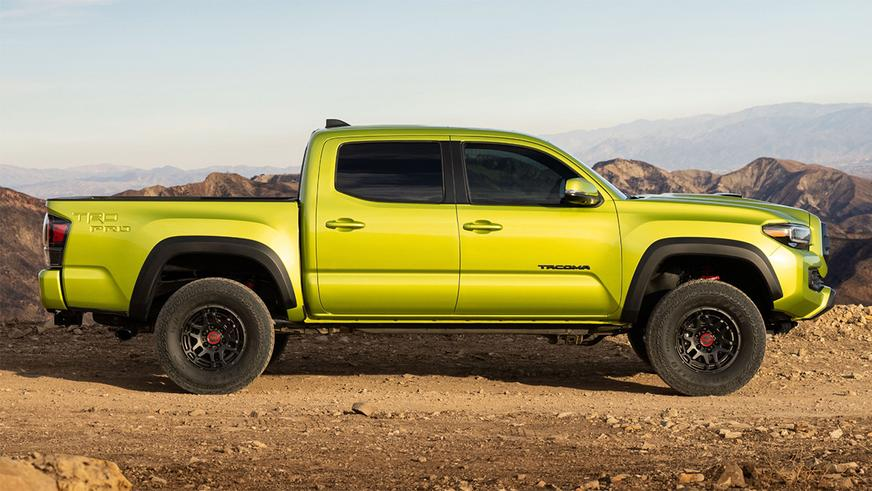 Пикап Toyota Tacoma приспособился к бездорожью