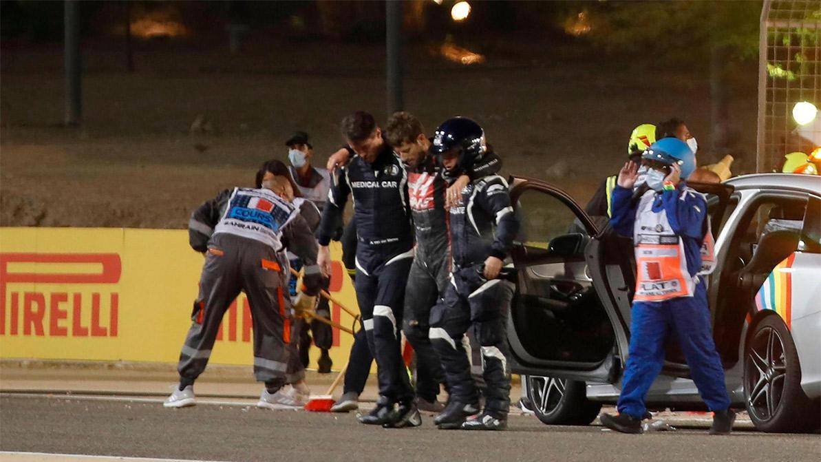 Жуткая авария в Формуле-1. Болид разорвало пополам