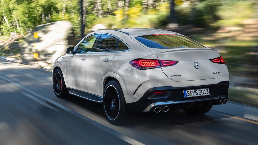 Новый Mercedes-Benz GLE Coupe добрался до Казахстана