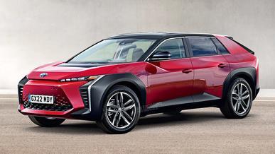 Электрические Toyota будут выпускаться как BZ