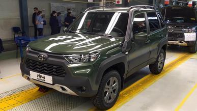 Новую «шниву» ставят на паузу: завод собрал последнюю машину
