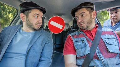 Боль таксистов: выезд на автобусную полосу, проезд под запрещающий знак и… комиссии таксопарка