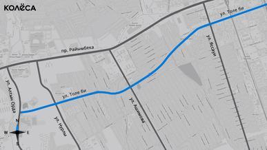 Пробивать улицу Толе би в Алматы начнут в 2021 году