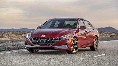 Hyundai Elantra стала автомобилем года в Северной Америке
