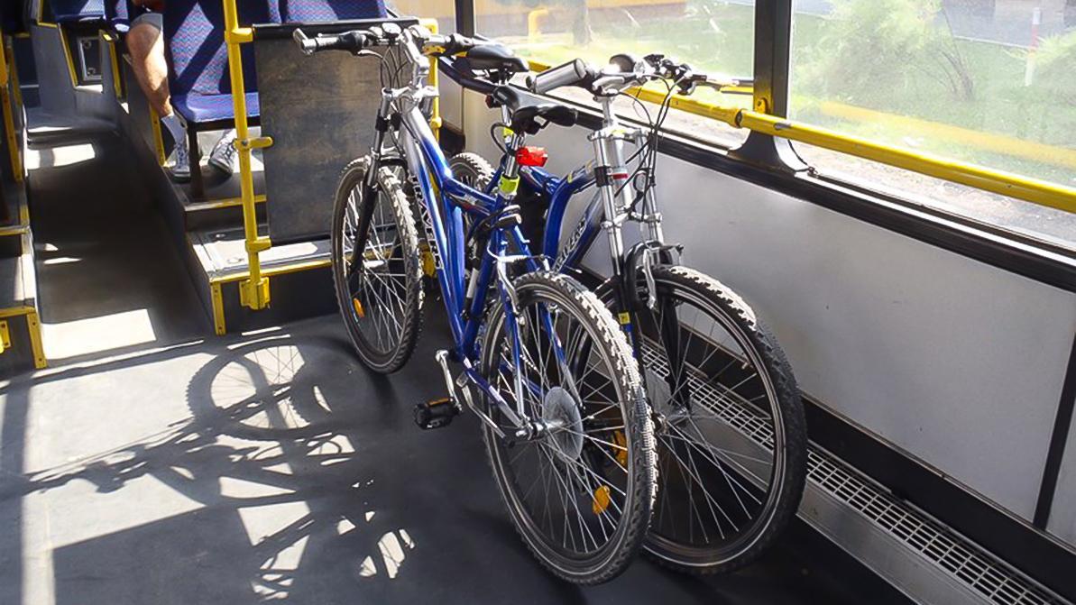 Велосипеды и электросамокаты запретят перевозить в автобусах