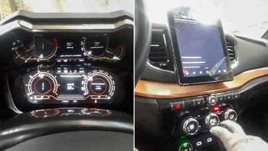 Vesta с заводским планшетом и дисплеем вместо щитка приборов
