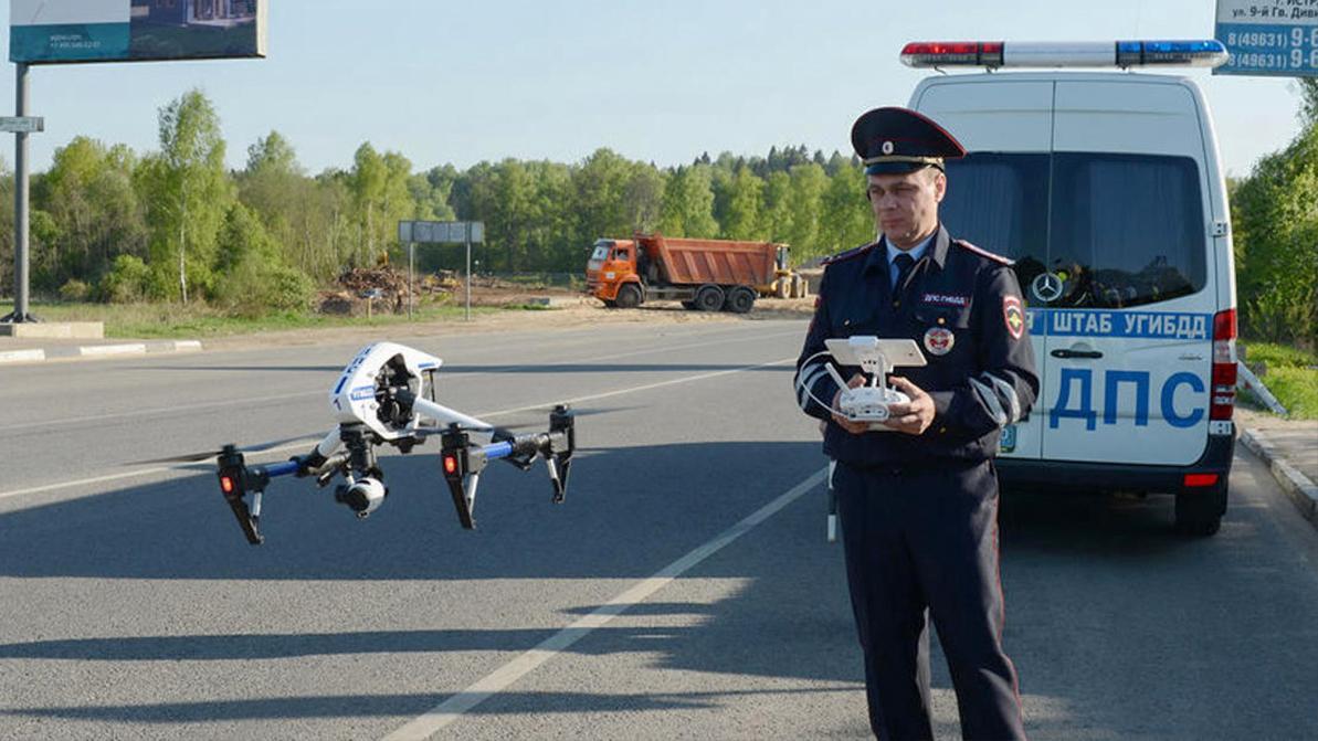 Дроны следят за дорогами в 17 регионах России