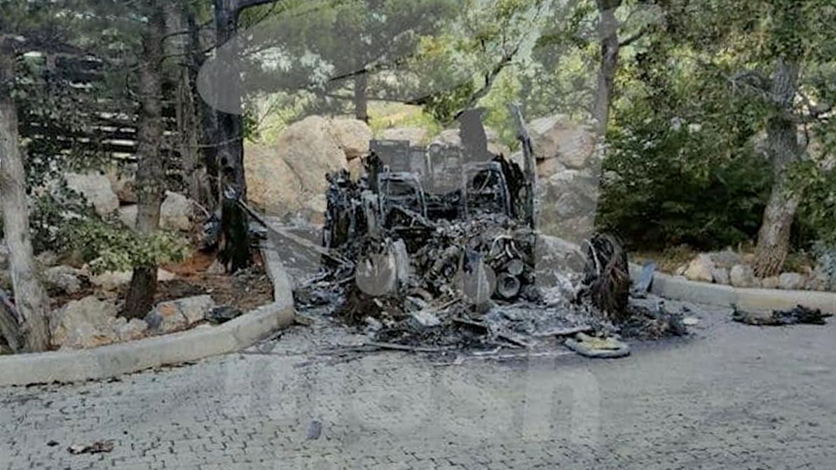 Rolls-Royce Cullinan сожгли в Севастополе