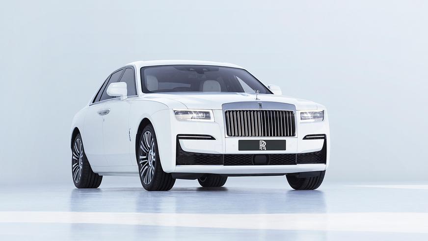 Представлен новый Rolls-Royce Ghost