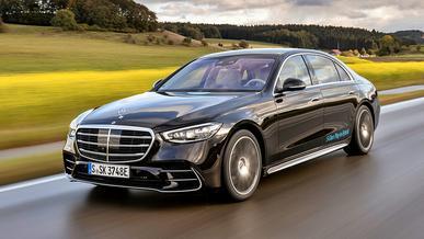 Mercedes-Benz отзывает новые S-Class W223