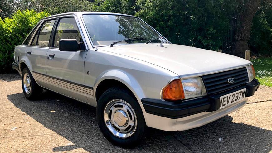 40-летний Ford Escort продали за 65 тысяч долларов
