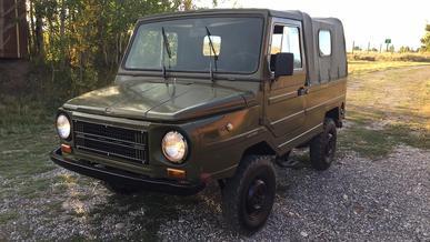 В США выставили на продажу «живой» ЛуАЗ-969М