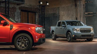 Ford представил небольшой доступный пикап Maverick